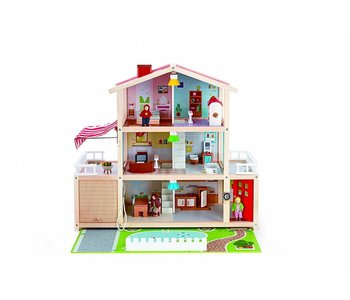 Hape Doll House Family Mansion
