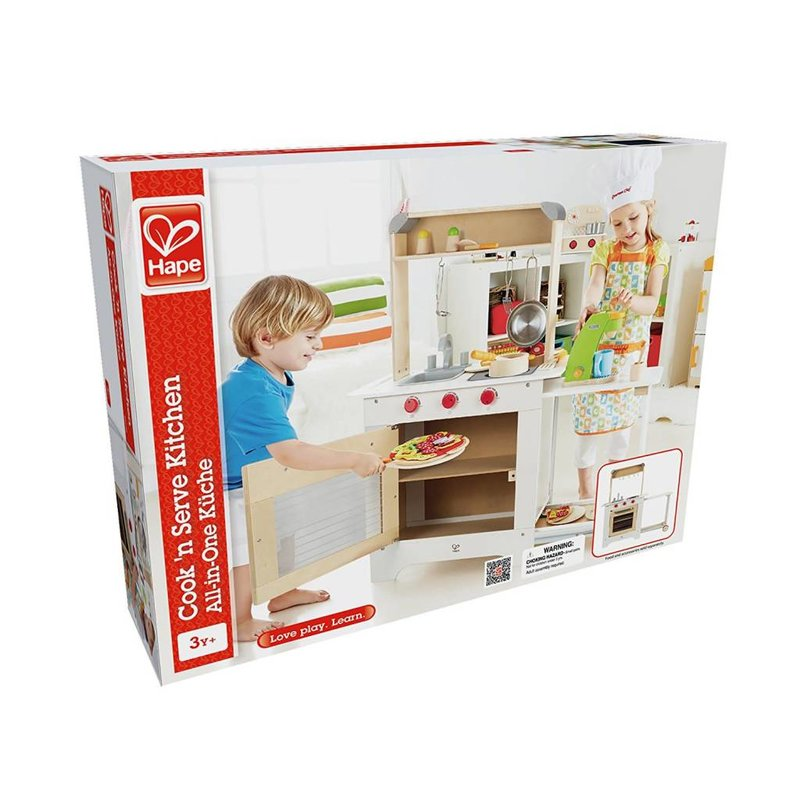 Hape Toys Hape Cook & Serve Kitchen