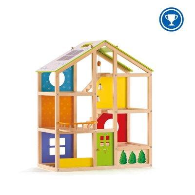Hape Toys Hape Doll House All Season Unfurnished