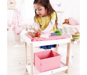 Hape Doll Furniture Wood Changing Table