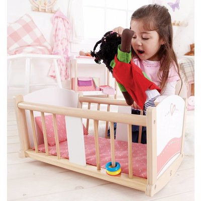 Hape Toys Hape Doll Furniture Wood Cradle