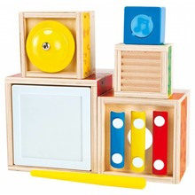 Hape Toys Hape Early Melodies Stacking Music Set