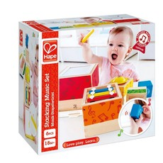 Hape Toys Early Melodies Stacking Music Set