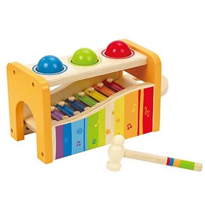 Hape Toys Hape Early Melodies Pound and Tap Bench