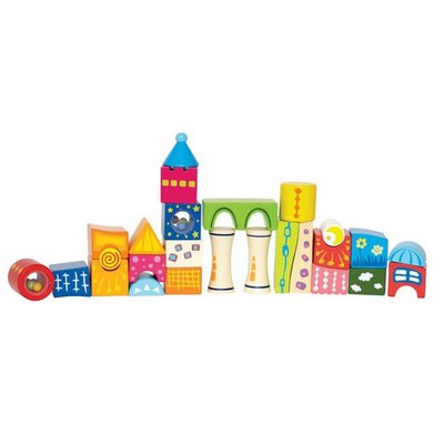 Hape Toys Hape Blocks Fantasy Castle