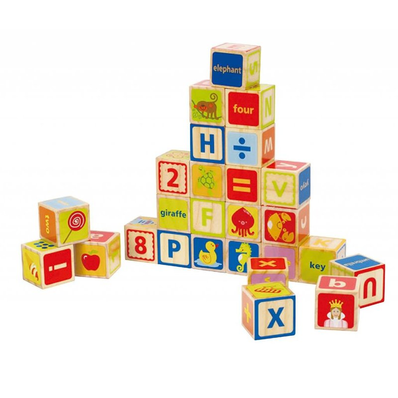 Hape Toys Hape Wood Blocks ABC 26pc