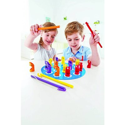 Hape Toys Hape Game Bamboo Shark Fishery