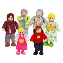 Hape Toys Hape Doll House Happy Family Caucasian