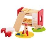 Hape Toys Hape Wooden Doll House Furniture: Children's Room