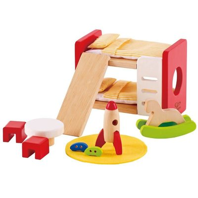 Hape Toys Hape Wooden Doll House Furniture: Children's Room