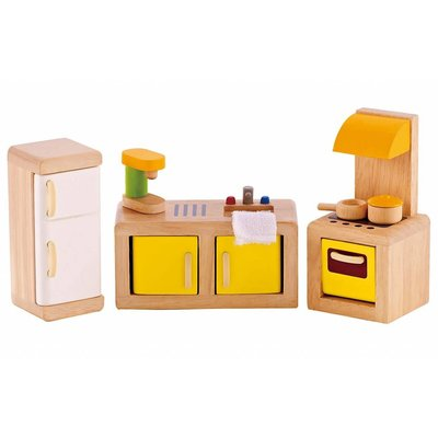 Hape Toys Hape Wooden Doll House Furniture: Kitchen