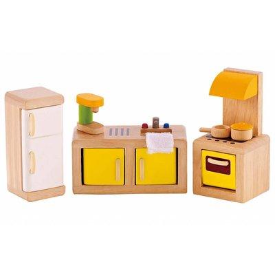 Hape Toys Hape Wooden Doll House Furniture: Kitchen