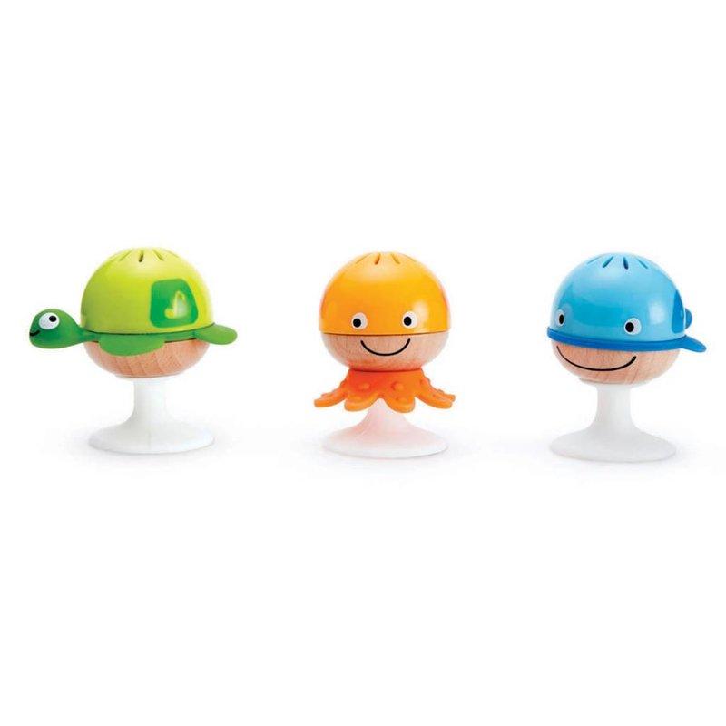 Hape Toys Hape Music Stay-Put Rattle Set
