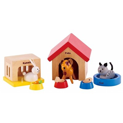 Hape Toys Hape Wooden Doll House Furniture: Pets