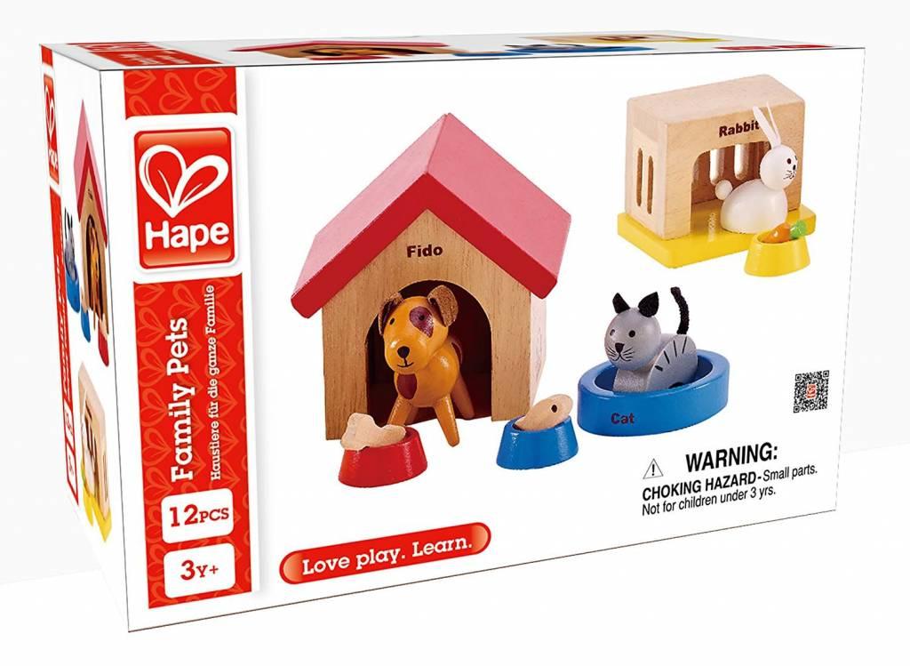 Hape Wooden Doll House Furniture Pets Minds Alive Toys Crafts Books