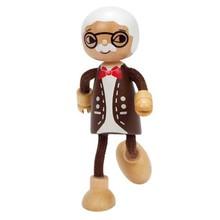 Hape Toys Hape Doll Family Modern Grandpa