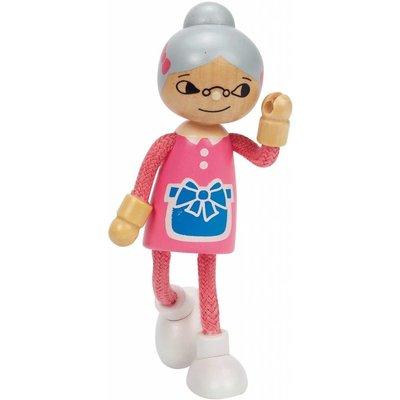 Hape Toys Hape Doll Family Modern Grandma