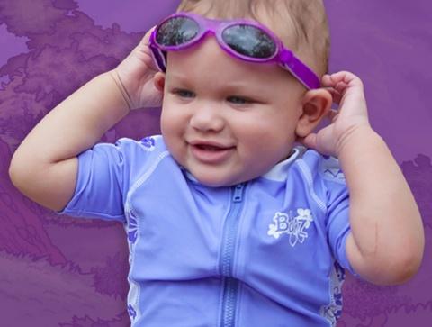 81c84b8cfbc Baby Banz Sun Glasses 0-2yr Purple - Minds Alive! Toys Crafts Books