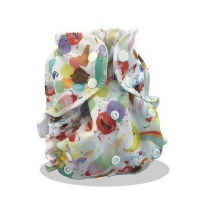 AppleCheeks Apple Cheeks Swim Diaper Size 2 Whirl'd Peace