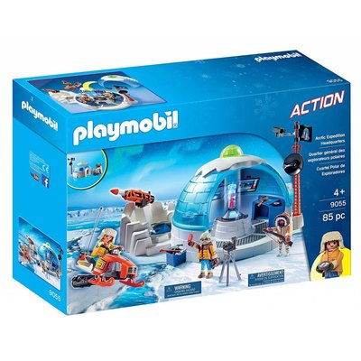 Playmobil Playmobil Arctic Expediton Headquarters disc