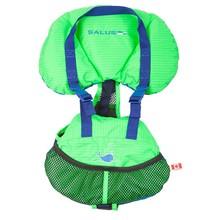 Salus Marine Salus Bijoux Baby Vest Lime 9lb-25lb