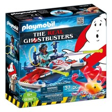 Playmobil Playmobil The Real Ghostbusters Zeddemore with Aqua Scooter