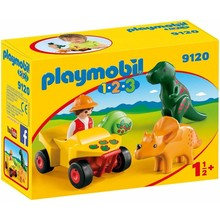 Playmobil Playmobil 123 Explorer with Dinos