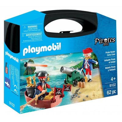 Playmobil Playmobil Carry Case: Pirate Raider