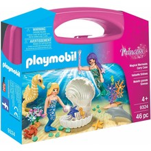 Playmobil Playmobil Carry Case: Magical Mermaids