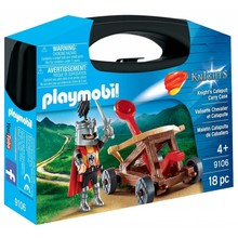 Playmobil Playmobil Carry Case: Knights Catapult disc