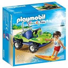 Playmobil Playmobil Surfer with Beach Quad
