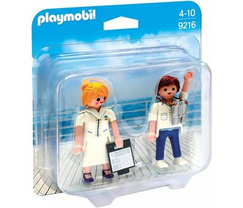 Playmobil Duo Pack Cruise Ship Officers disc