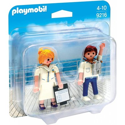 Playmobil Playmobil Duo Pack Cruise Ship Officers disc