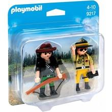 Playmobil Playmobil Duo Pack Ranger and Hunter disc