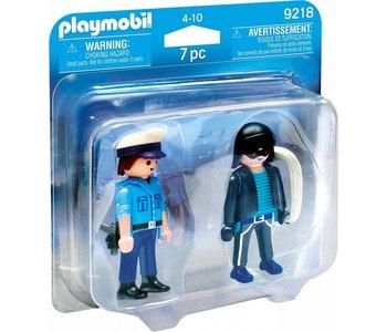 Playmobil Duo Pack Policeman and Burglar