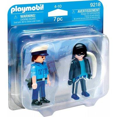 Playmobil Playmobil Duo Pack Policeman and Burglar