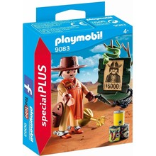 Playmobil Playmobil Special Cowboy with Wanted Poster disc