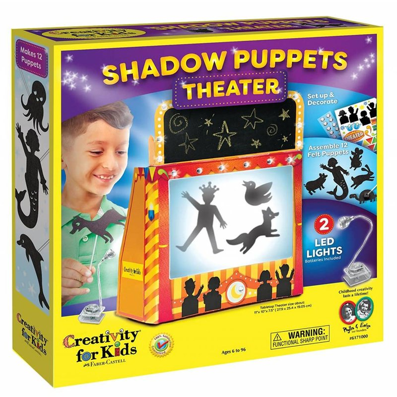 Creativity for Kids Creativity for Kids Shadow Puppet Theater