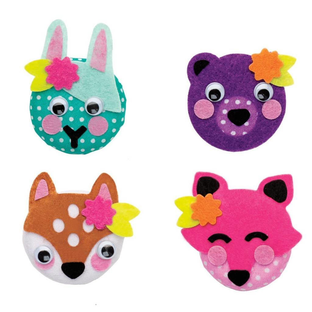 Creativity for Kids Mini Animal Buttons