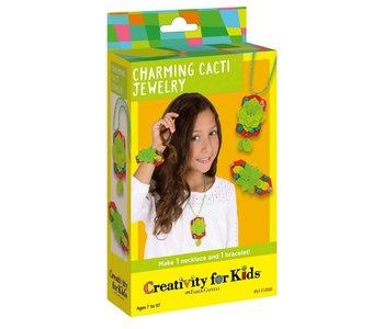 Creativity for Kids Mini Charming Cacti Jewelry