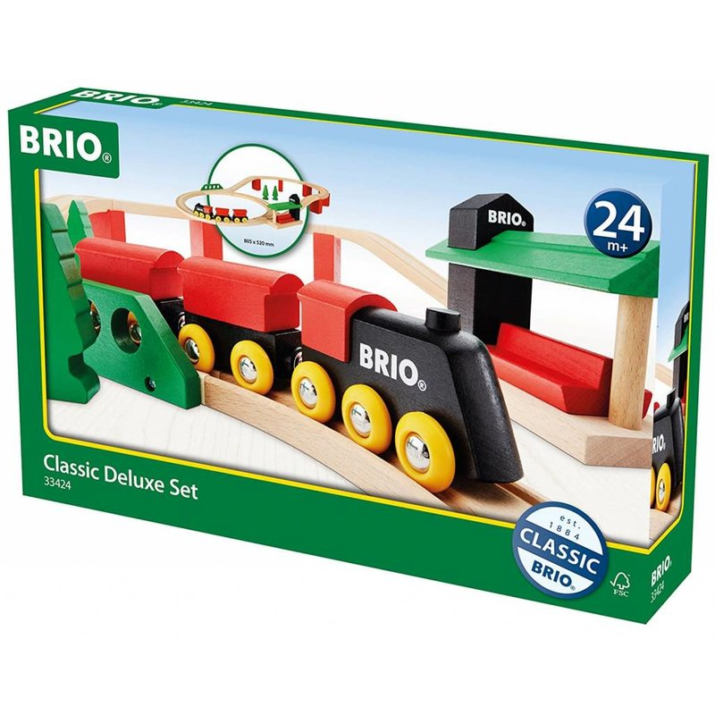 Brio Brio Classic Train Deluxe Set