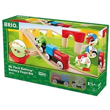 Brio Brio Trains My First Railway Battery Train Set