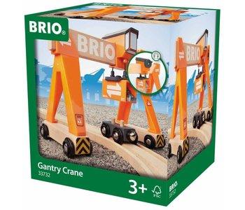 Brio World Train Gantry Crane