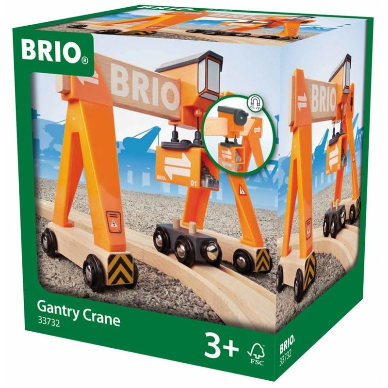Brio Brio World Train Gantry Crane