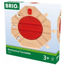 Brio Brio World Train Track Mechanical Turntable
