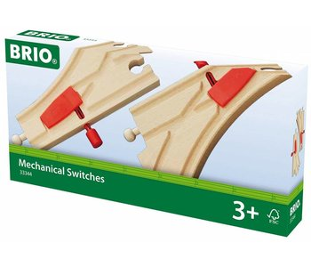 Brio World Train Track Mechanical Switches