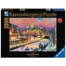 Ravensburger Puzzle 1000pc Canadian Ottawa Winterlude Festival