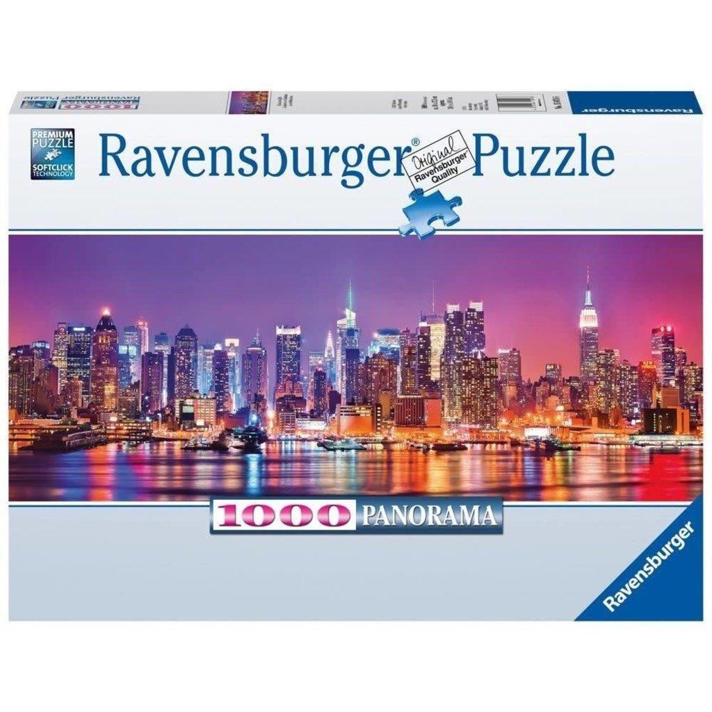 Ravensburger Puzzle 1000pc Panorama Manhattan Lights