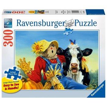 Ravensburger Puzzle 300pc Large Format Barnyard Duet