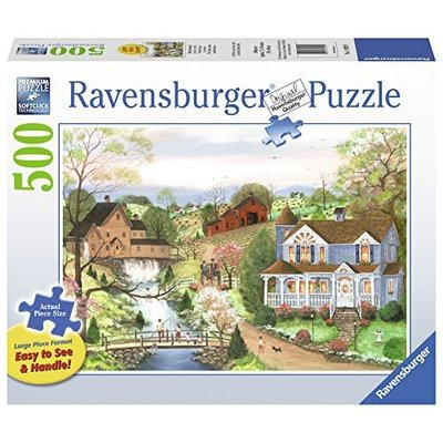 Ravensburger Ravensburger Puzzle 500pc Large Format The Fishing Lesson